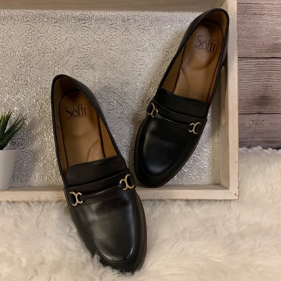 Sofft Shoes - Sofft Black Leather Loafers NWOT